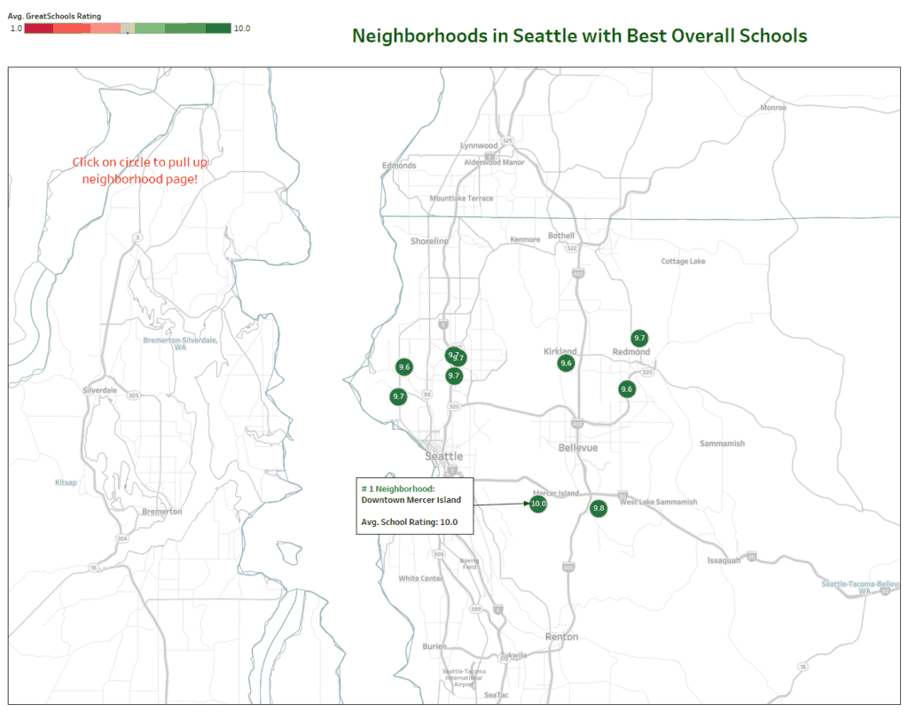 Seattle neighborhoods best schools