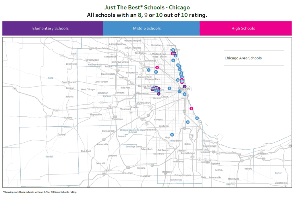 Best Public Schools Chicago