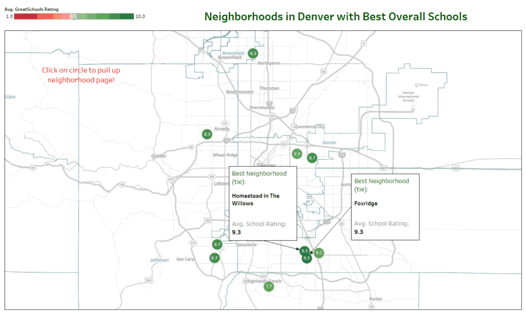 best neighborhoods denver