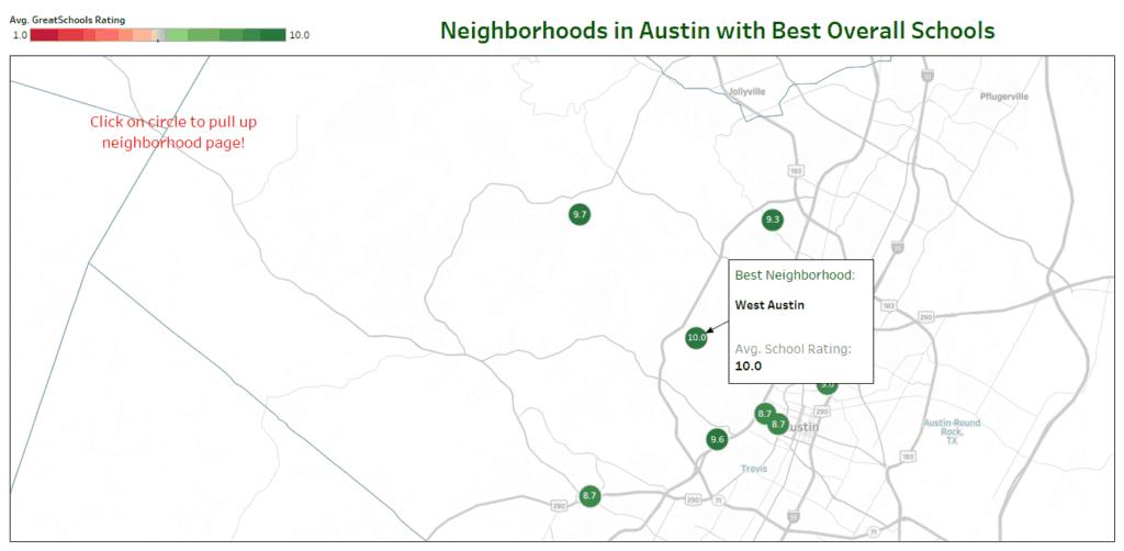 best neighborhoods public schools austin
