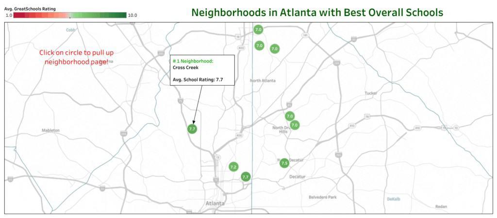 best neighborhoods public schools atlanta