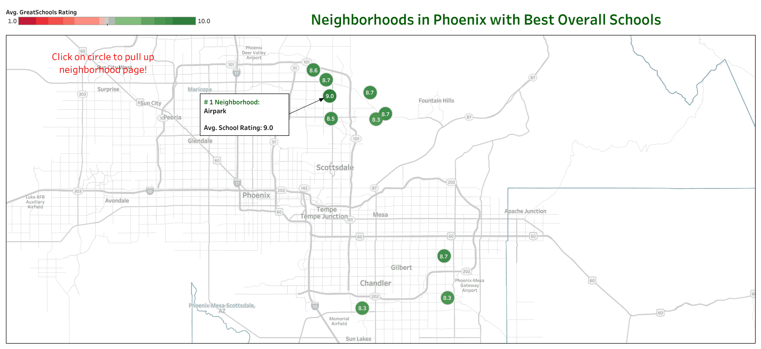 cheapest apartments near the best schools phoenix