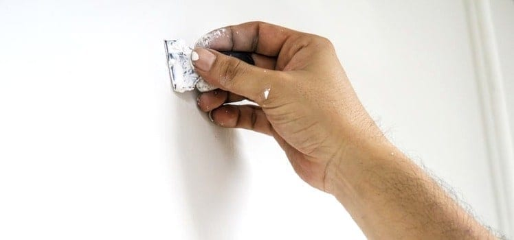 fixing holes in wall