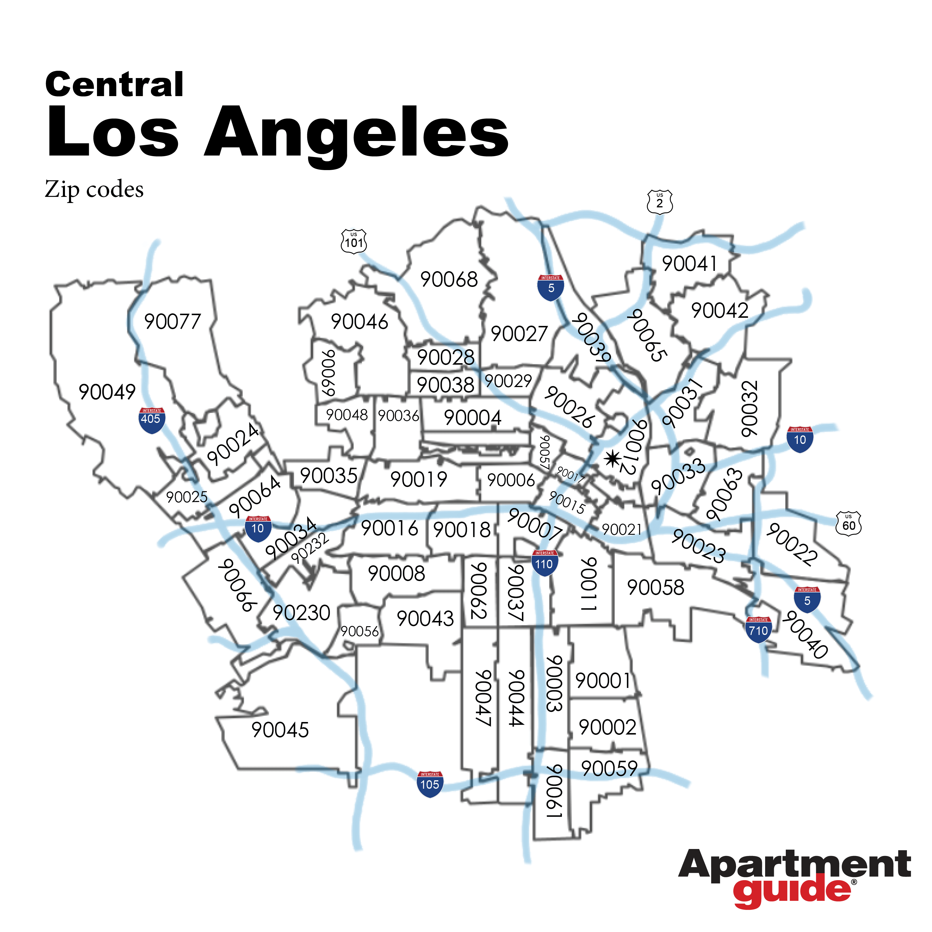 This Is How Los Angeles Looks According To Most Popular Businesses Apartmentguide Com