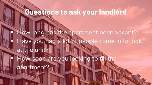 questions to ask your landlord