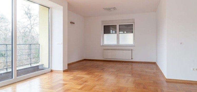 interior of an empty apartment