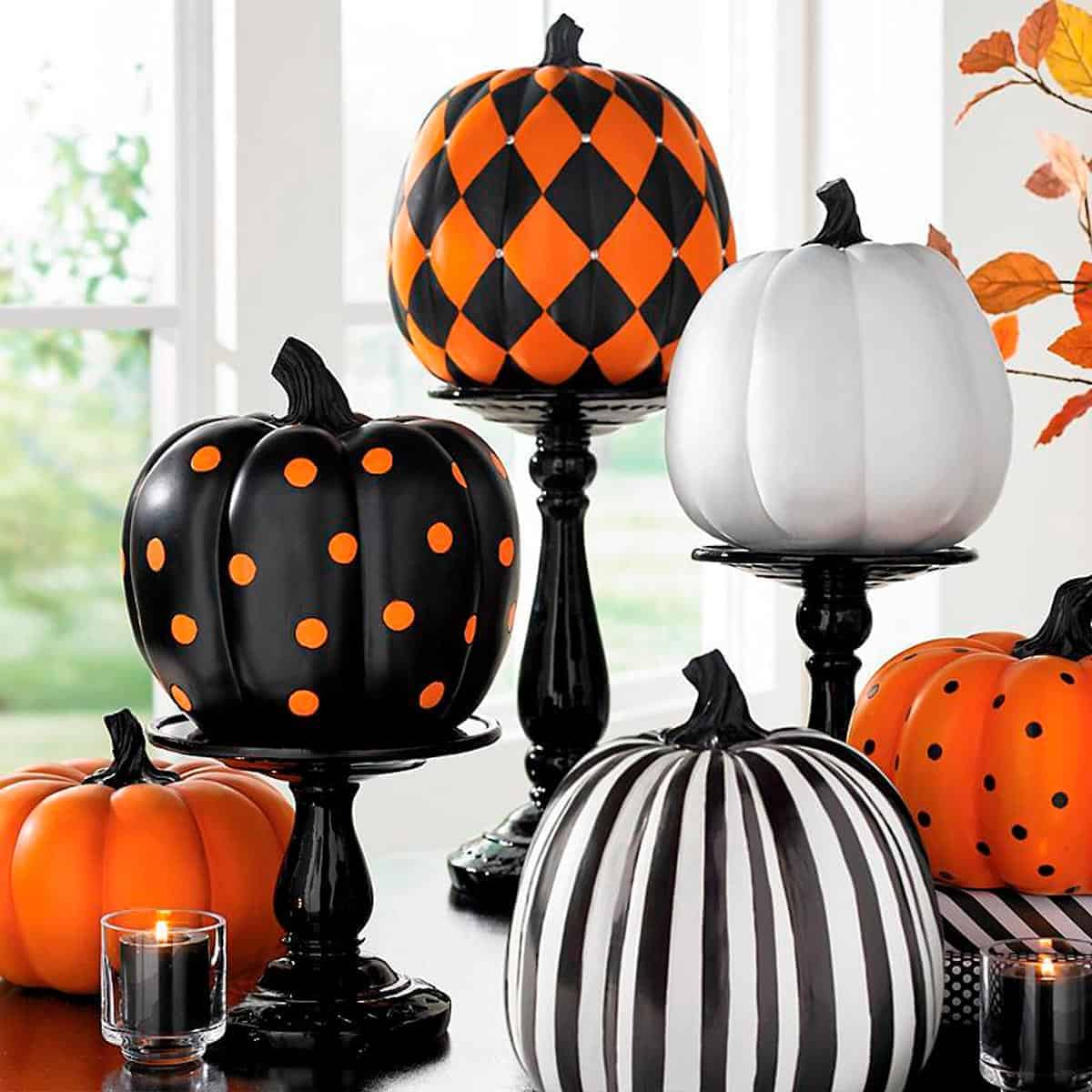 10 ways to decorate a pumpkin without carving apartmentguide com