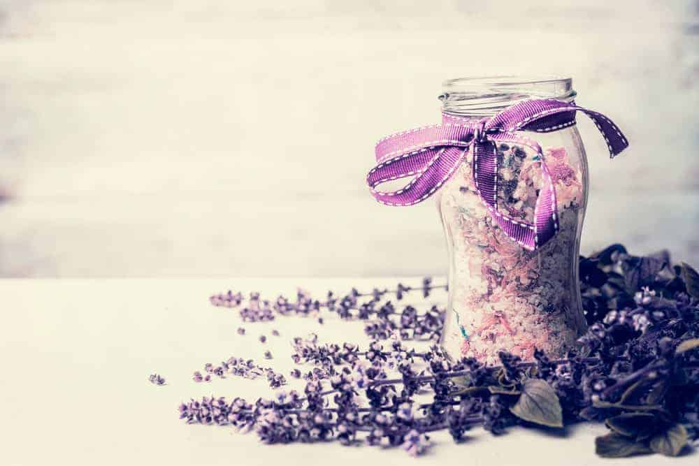 jar of epsom salt