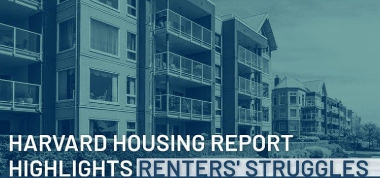 harvard housing report highlights renters' struggles