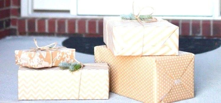 packages at front door