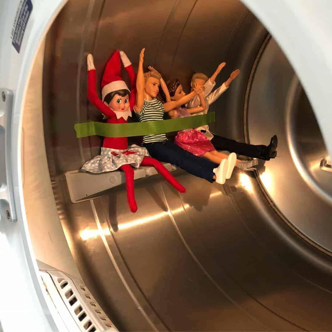 Elf in dryer