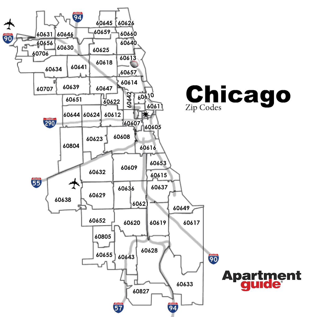 Search For Apartments By Zip Code: This Is How Chicago Looks According To Most Popular