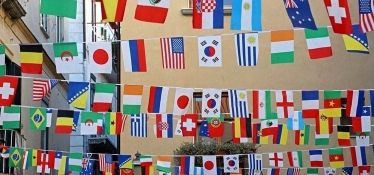 High Quality International Flags