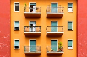 apartments with balconies