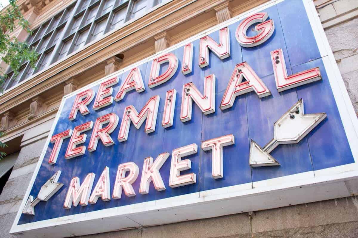 reading terminal market in center city philadelphia