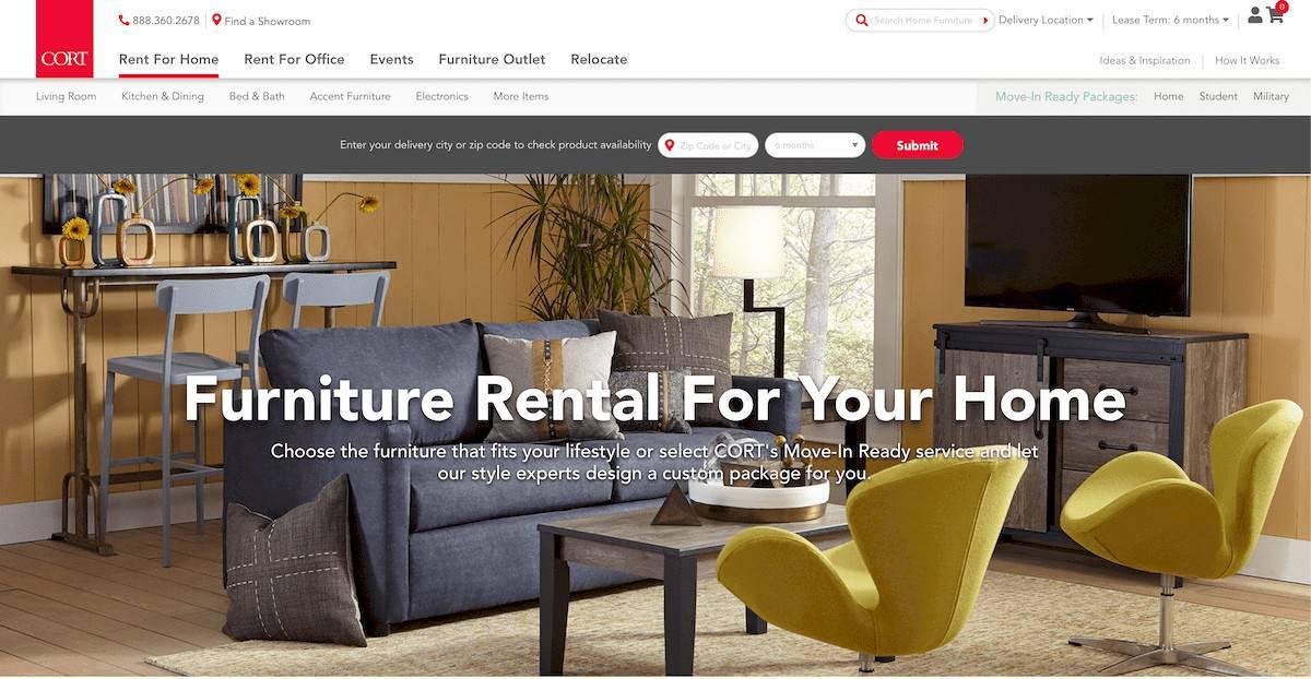 Cort homepage