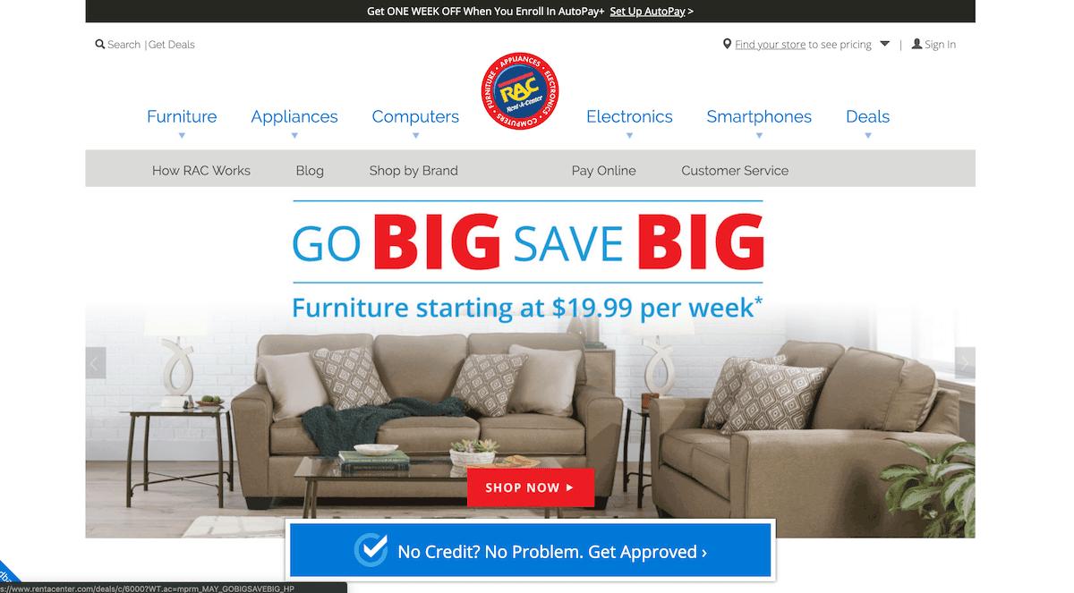 . The 6 Best Furniture Rental Companies   ApartmentGuide com