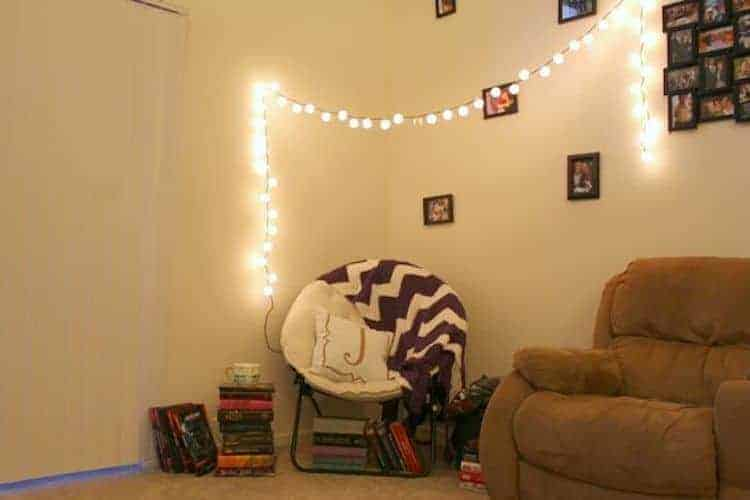 crazy reading nook