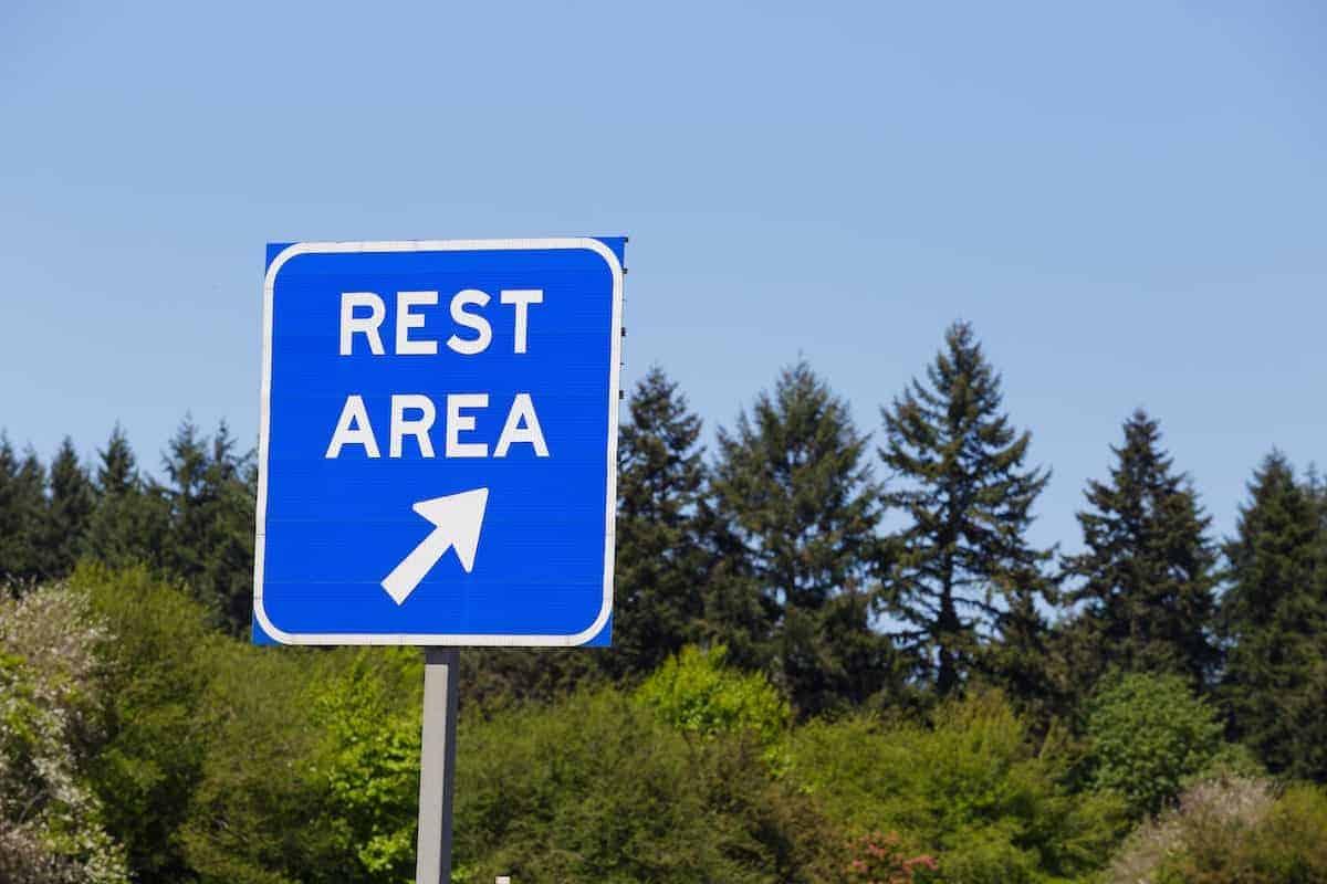 rest stops