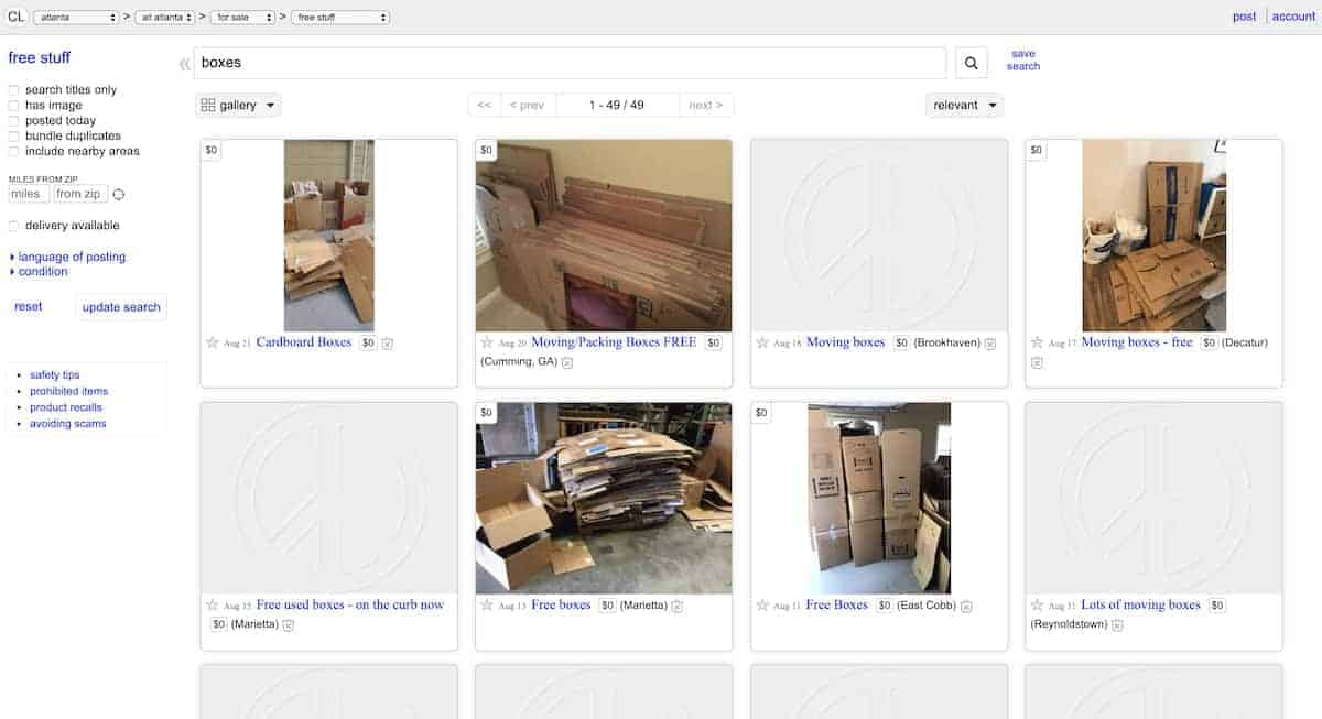 9 Places to Score Free Moving Boxes | ApartmentGuide com