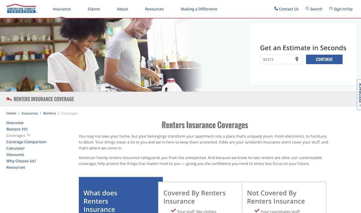 12 Of The Best Renters Insurance Companies Apartmentguide Com
