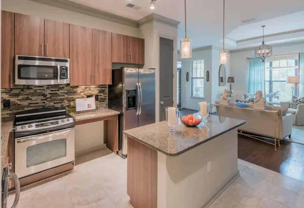 luxury apartment example