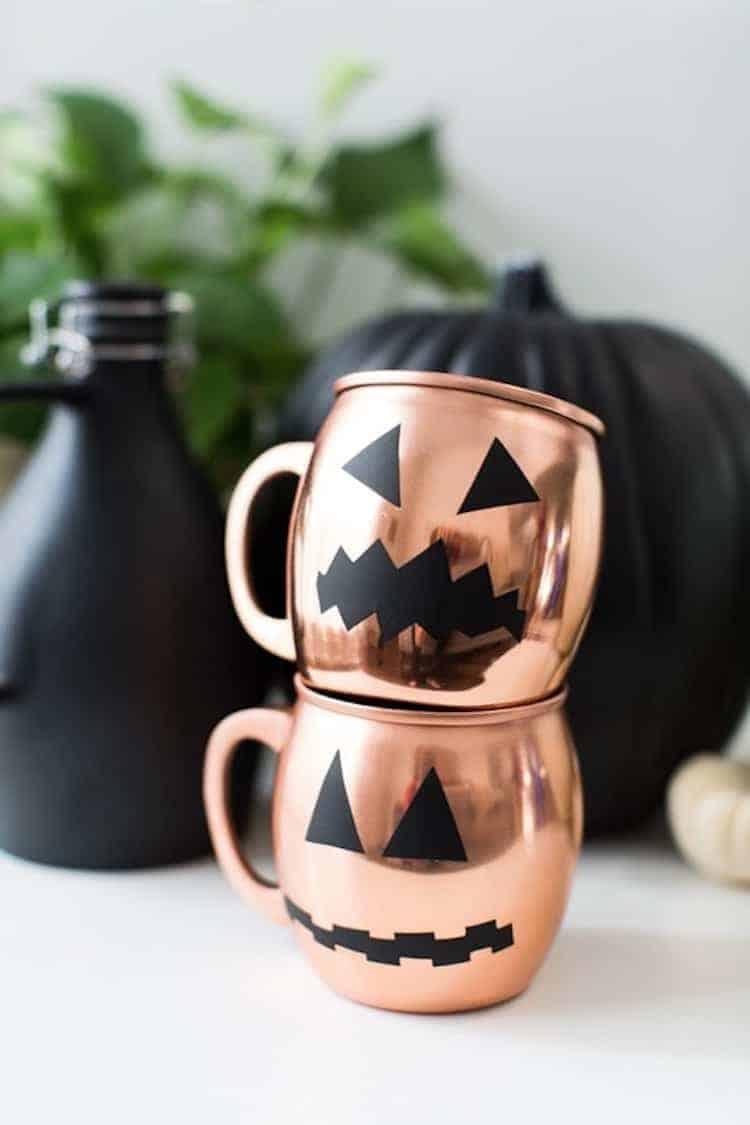 Halloween glassware decals