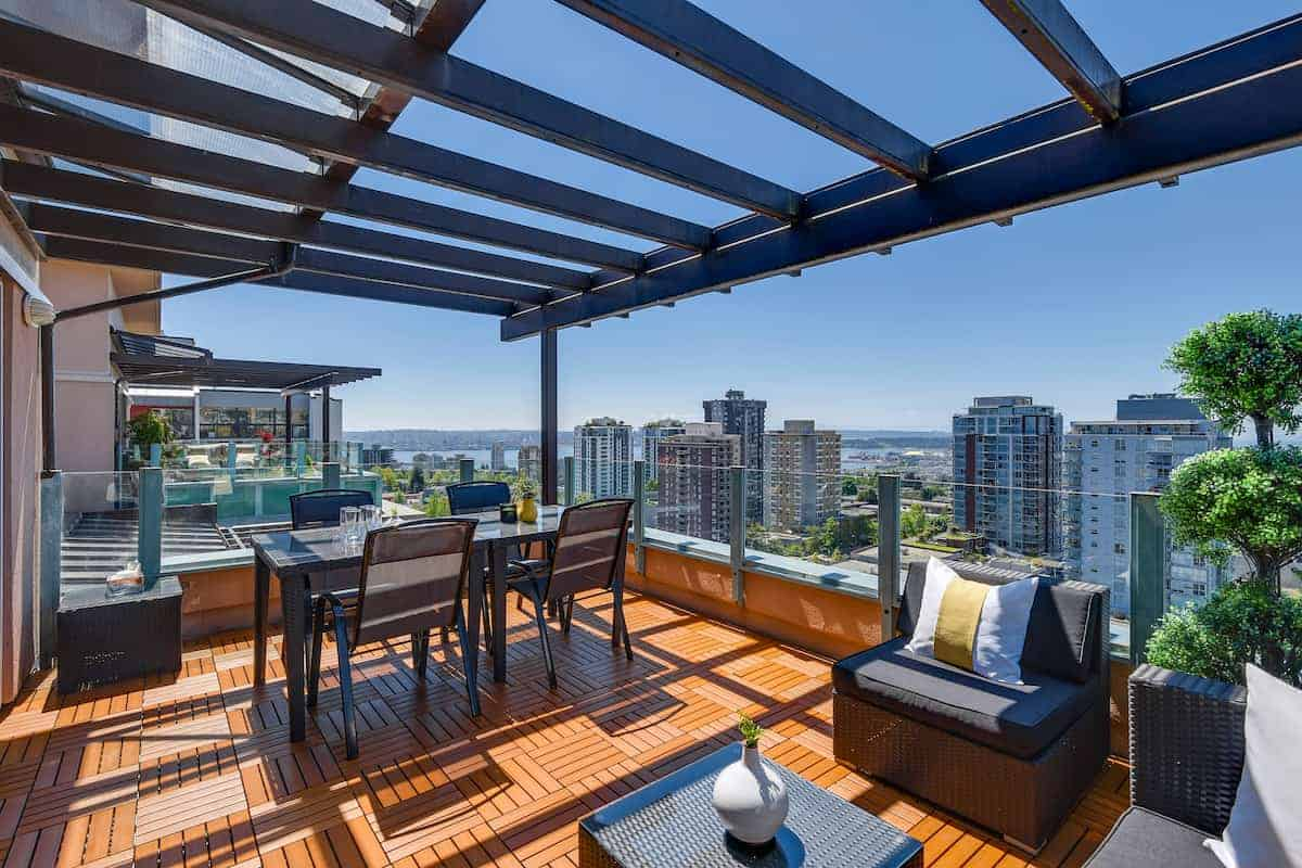penthouse patio