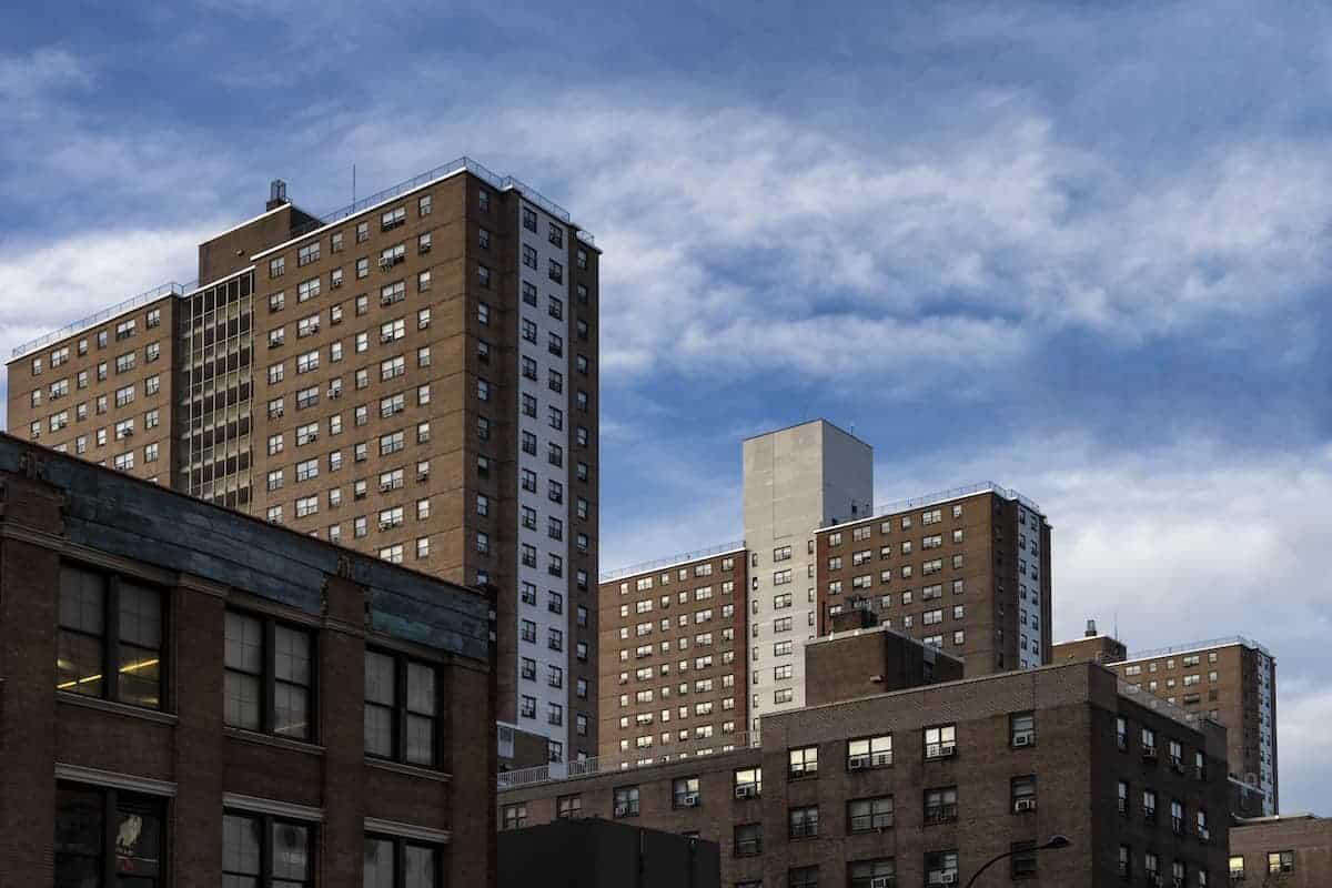 public housing section 8 building