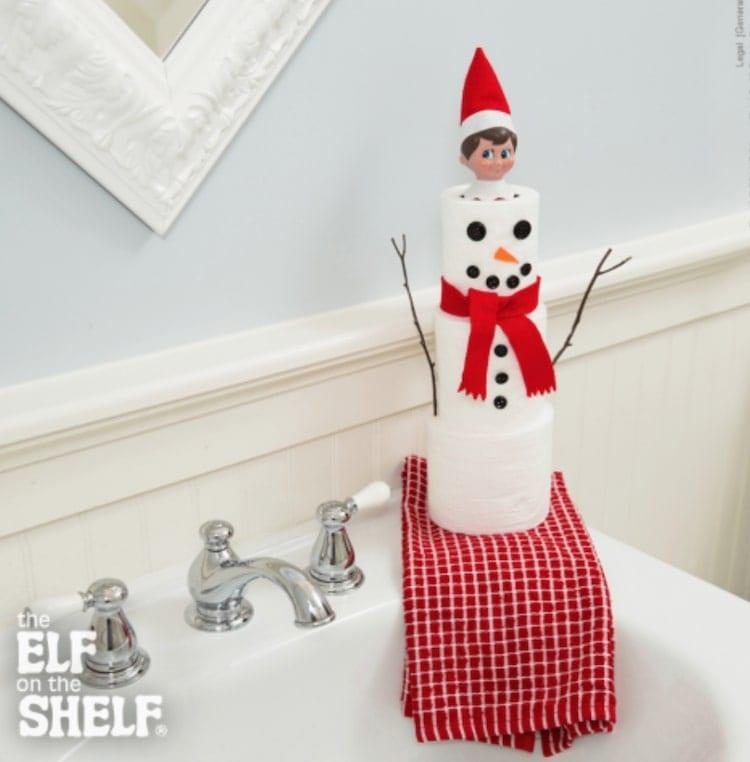 snowman elf