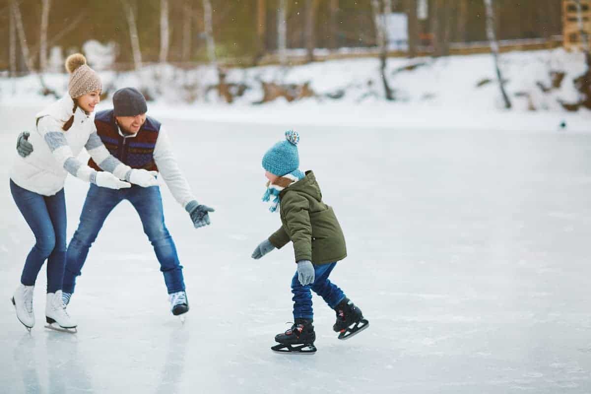 ice staking