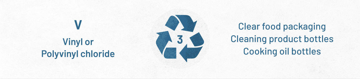 plastic recycling guide - type 3