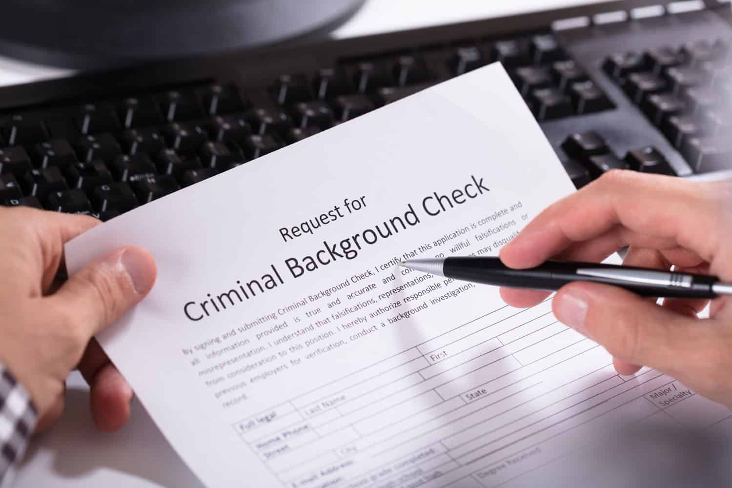 background check paper