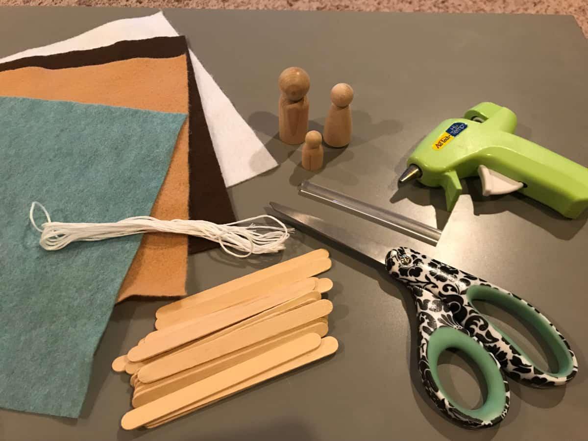 nativity materials