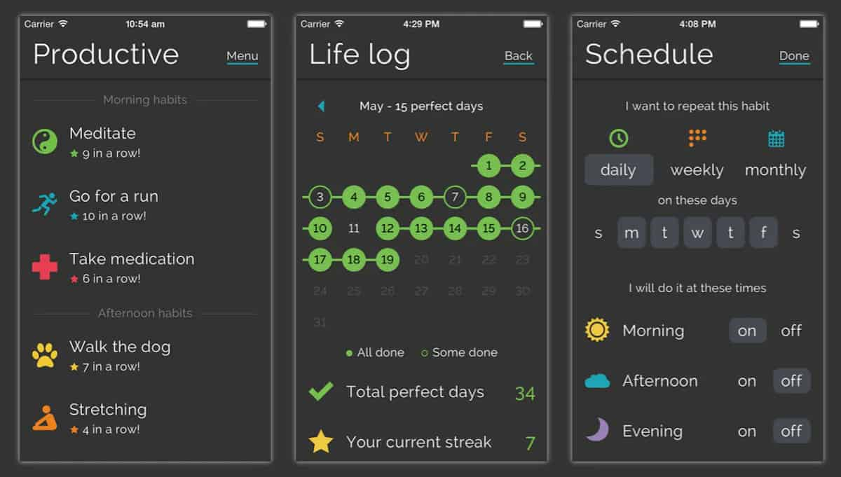 Productivity app to keep you on track.