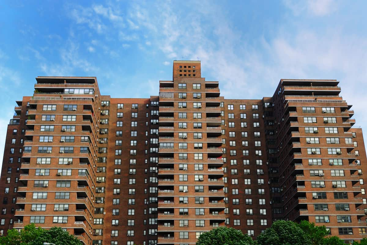 public housing building in new york