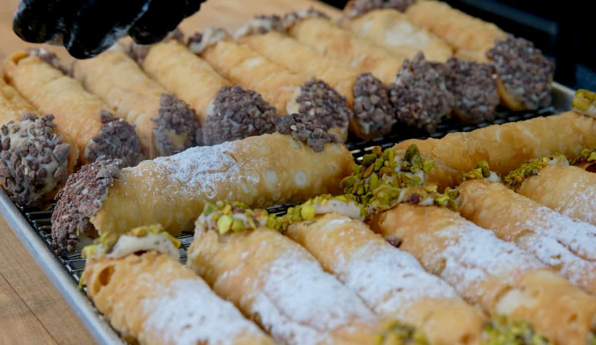 Vegan cannolis from The Butcher
