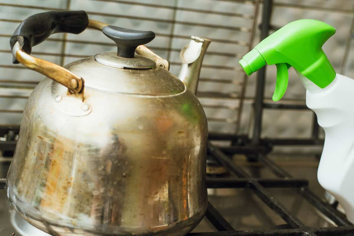 cleaning kettle