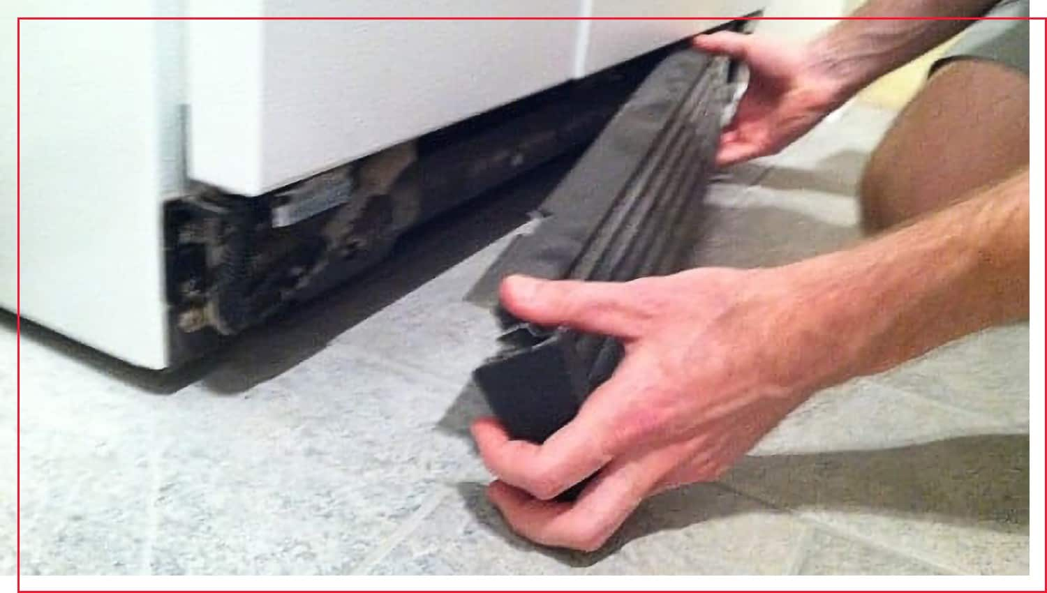 photo of how to clean refrigerator coils step 2