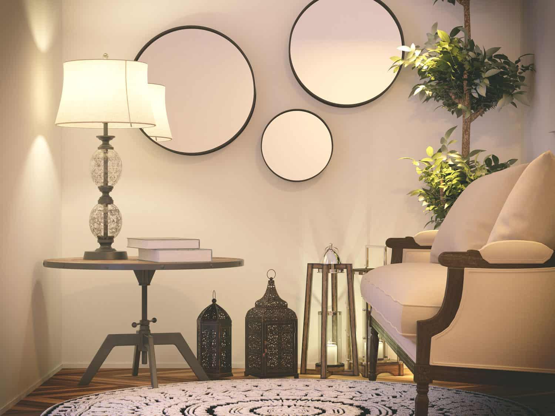 photo of mirrors