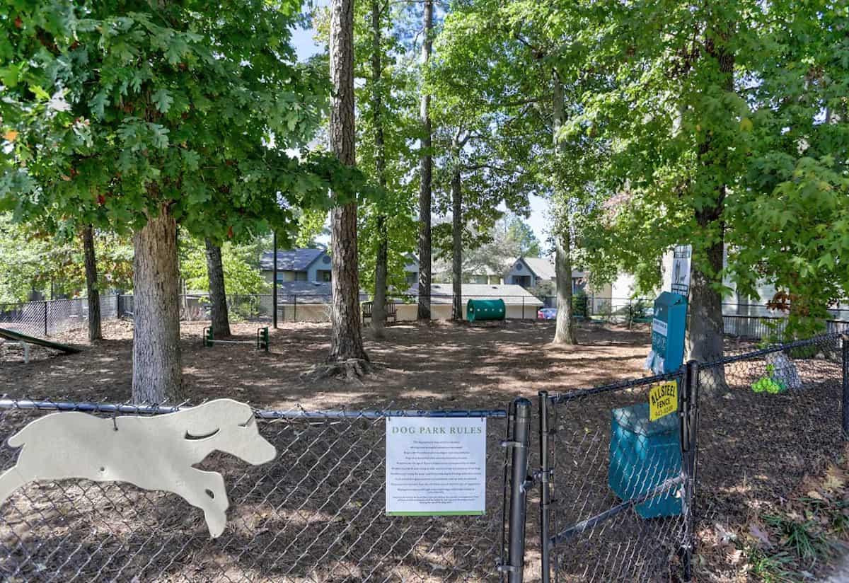 The pet park at Grand Highlands Vestavia Hills in Vestavia, AL
