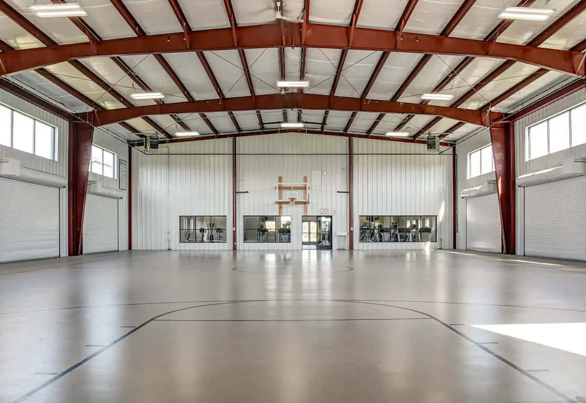 The sports complex at Tallgrass Apartments in Mount Pleasant, MI