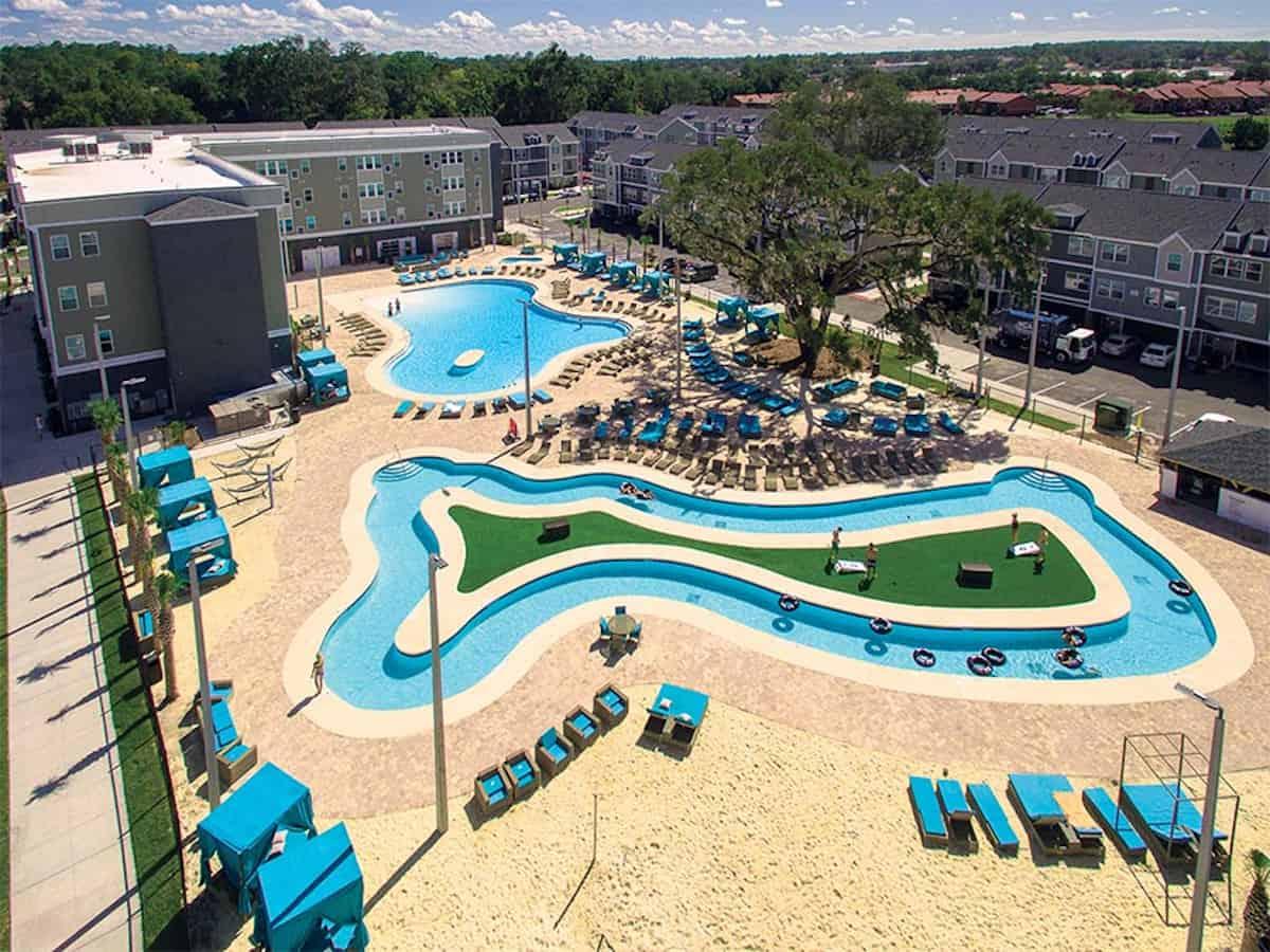The pool at The Ridge - Clemson, SC
