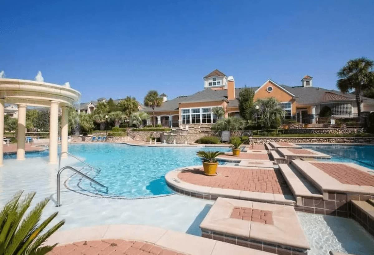 The pool at San Paloma - Austin, TX