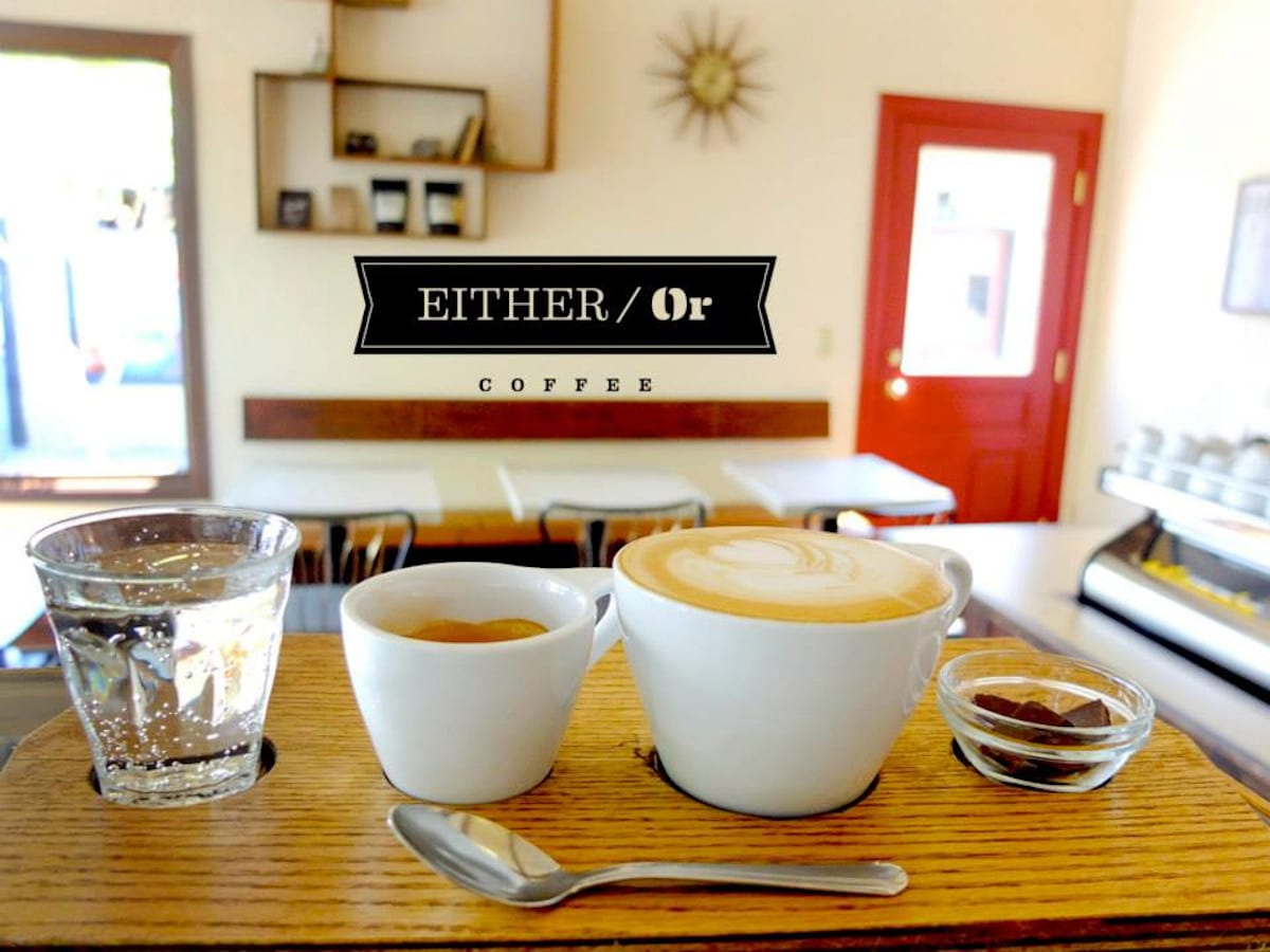 Either/Or Coffee, Portland, OR