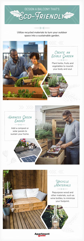 ways to make an eco-friendly balcony