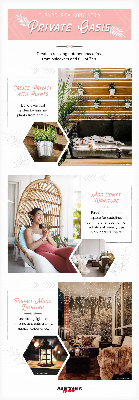 ways to make an apartment balcony garden