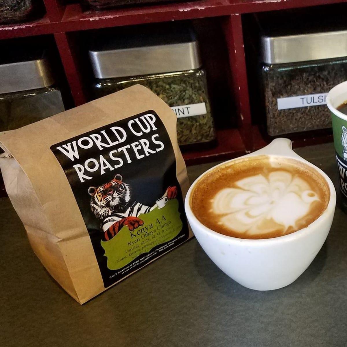 World Cup Coffee, Portland, OR