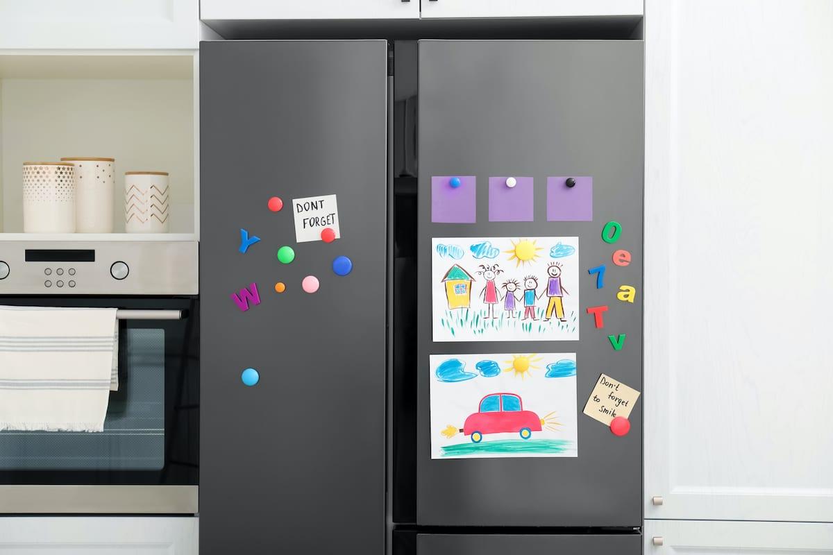 temporary kitchen decorating ideas refrigerator