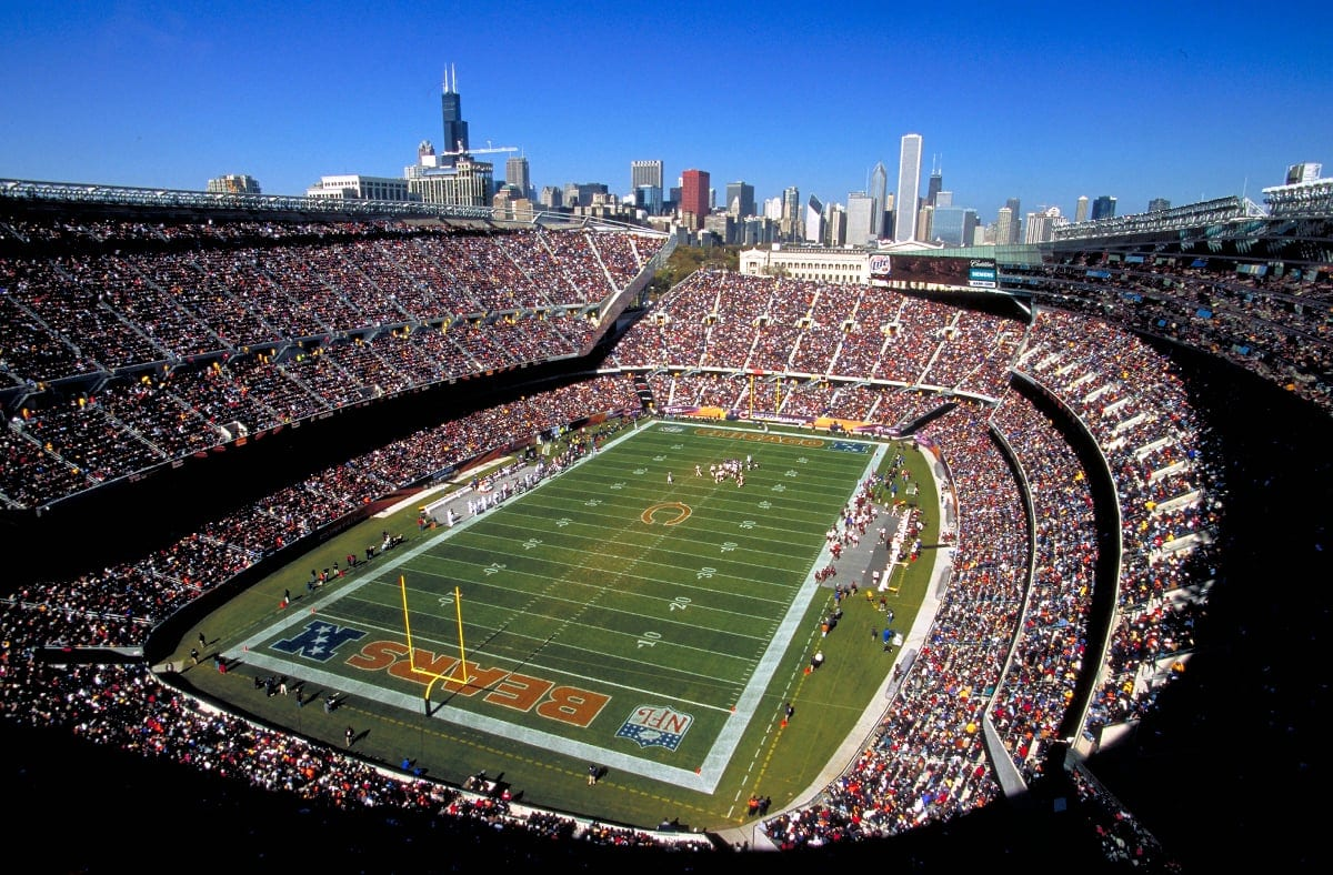 Soldier Field, Chicago, IL living in chicago